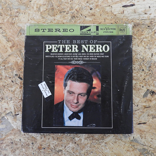 <再生確認済み>「 THE BEST OF PETER NERO 」 オープンリール 7号 ミュージック テープ