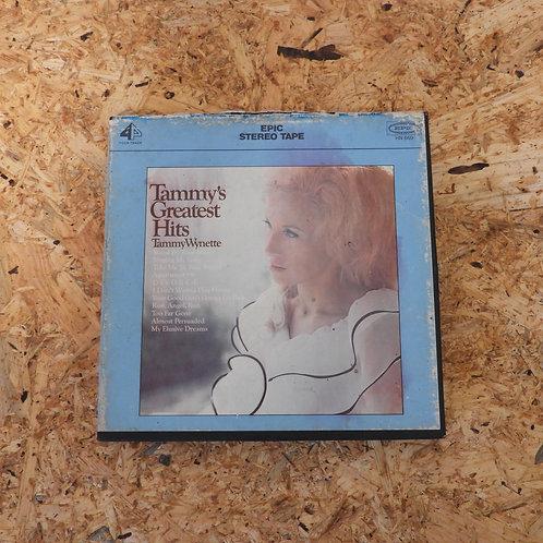 <再生確認済み>「 TAMMY WYNETTE'S GREATEST HITS 」 オープンリール 7号 ミュージック テープ
