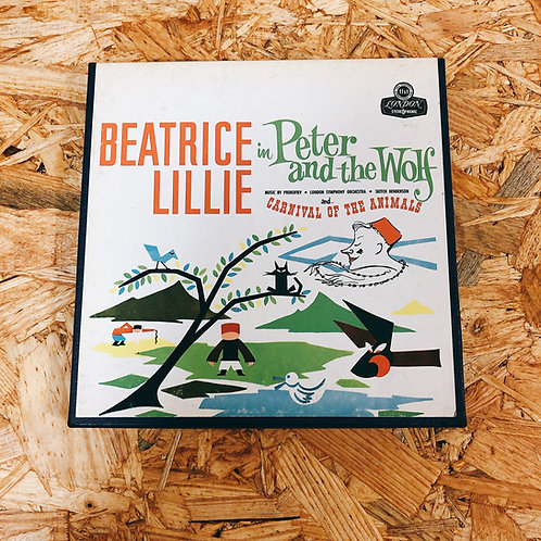<再生確認済み>「 CARNIVAL OF THE ANIMALS , PETER & THE WOLF / BEATRICE LILLIE 」 オープンリール