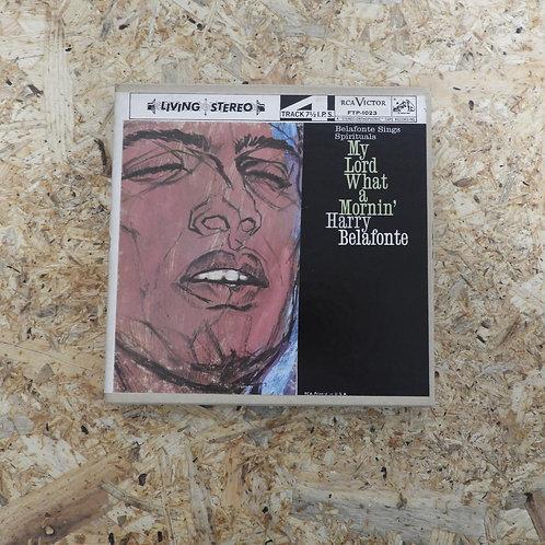 <再生確認済み>「 MY LORD WHAT A MORNIN' / HARRY BELAFONTE 」 オープンリール 7号 ミュージック テープ