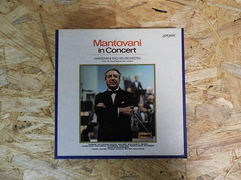 <再生確認済み>「 MANTOVANI IN CONCERT 」 マントヴァーニ オープンリール 7号 ミュージック テープ