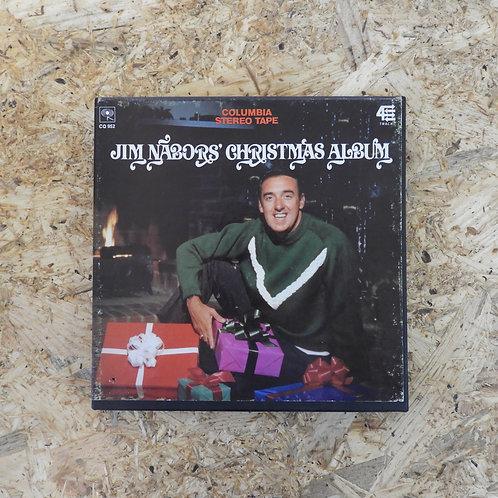 <再生確認済み>「 JIM NABORS' CHRISTMAS ALBUM 」 オープンリール 7号 ミュージック テープ