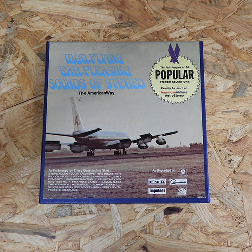 <再生確認済み>「 AMERICAN AIRLINES ASTROSTEREO POPULAR PROGRAM NO.57 」 V.A. オープンリール 7号