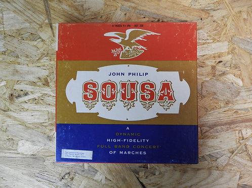 <再生確認済み>「 JOHN PHILIP SOUSA MARCHES 」 オープンリール 7号 ミュージック テープ