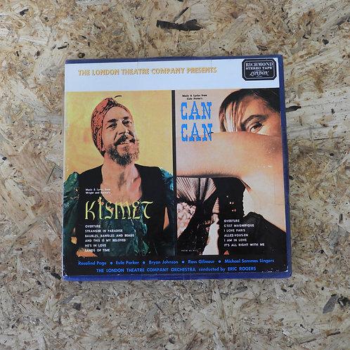 <再生確認済み>「 KISMET - CANCAN / LONDON THEATRE COMPANY ORCHESTRA 」 オープンリール 7号 ミュージック