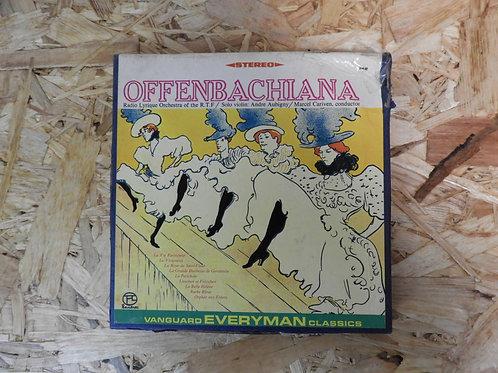 <再生確認済み>「 OFFENBACHIANA / RADIO LYRIQUE ORCHESTRA 」 オープンリール 7号 ミュージック テープ