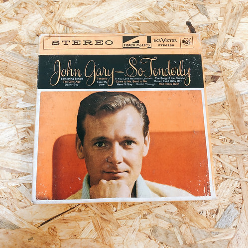 <再生確認済み>「 SO TENDERLY / JOHN GARY 」 オープンリール 7号 ミュージック テープ