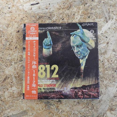<再生確認済み>「 TCHAIKOVSKY:1812, OVERTURE / STOKOWSKI 」 オープンリール 7号 ミュージック テープ