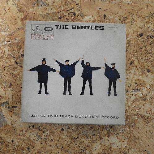 <再生確認済み>「 HELP! / THE BEATLES 」 ビートルズ オープンリール 5号 ミュージック テープ MONO 002
