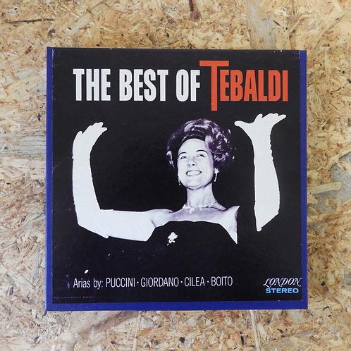 <再生確認済み>「 THE BEST OF TEBALDI / PUCCINI GIORDANO CILEA BOITO 」 オープンリール 7号 テープ