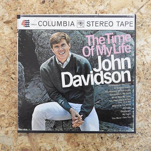 <再生確認済み>「 THE TIME OF MY LIFE / JOHN DAVIDSON 」 オープンリール 7号 ミュージック テープ