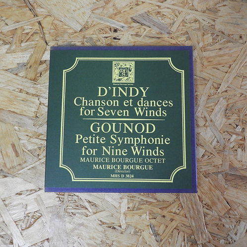 <再生確認済み>「 D'INDY : CHANSON & DANCES FOR 7 WINDS - GOUNOD : PETITE SYMPHONIE FOR