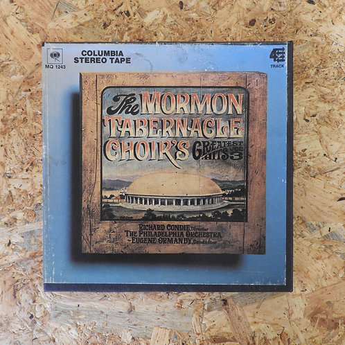 <再生確認済み>「 THE MORMON TABERNACLE CHOIR'S GREATEST HITS, VOL.3 」 オープンリール 7号 ミュージック