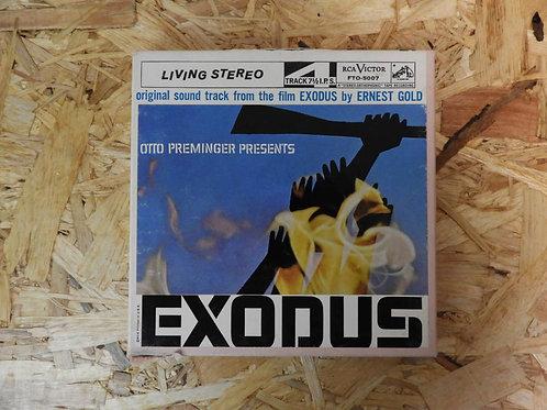 <再生確認済み>「 EXODUS / AN ORIGINAL SOUNDTRACK RECORDING 」 オープンリール 7号 ミュージック テープ
