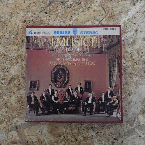 <再生確認済み>「 ヴィヴァルディ:フルート協奏曲「海の嵐」 / イ・ムジチ合奏団 」 オープンリール 7号 ミュージック テープ