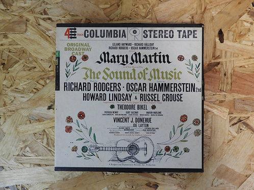 """<再生確認済み>「 MARY MARTIN IN """"THE SOUND OF MUSIC"""" 」 オープンリール 7号 ミュージック テープ"""
