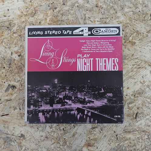 <再生確認済み>「 LIVING STRINGS PLAY NIGHT THEMES 」 オープンリール 7号 ミュージック テープ