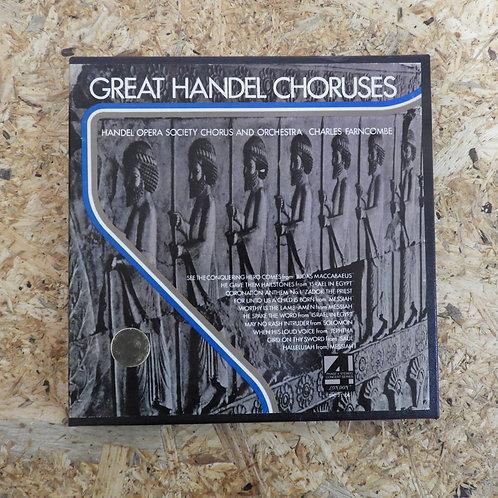 <再生確認済み>「 GREAT HANDEL CHORUSES / CHARLES FARNCOMBE 」 オープンリール 7号 ミュージック テープ