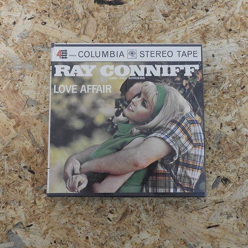 <未開封!>「 LOVE AFFAIR / RAY CONNIFF 」 オープンリール 7号 ミュージック テープ