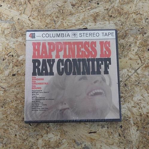 <未開封!>「 HAPPINESS IS RAY CONNIFF 」 オープンリール 7号 ミュージック テープ