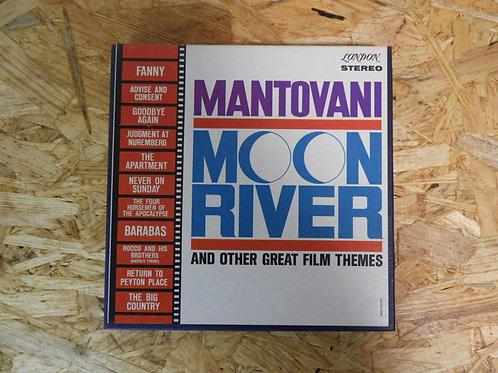 <再生確認済み>「 MANTOVANI / MOON RIVER 」 マントヴァーニ オープンリール 7号 ミュージック テープ