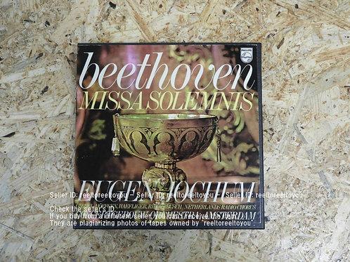 BEETHOVEN : MISSA SOLEMNIS / EUGEN JOCHUM