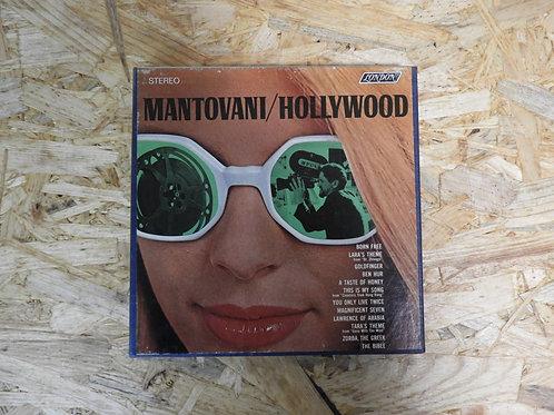 <再生確認済み>「 MANTOVANI / HOLLYWOOD 」 マントヴァーニ オープンリール 7号 ミュージック テープ