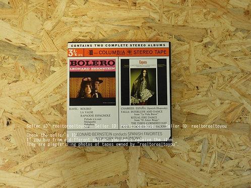BOLERO ・ ESPANA / LEONARD BERNSTEIN