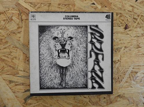 <再生確認済み>「 SANTANA 」 オープンリール 7号 ミュージック テープ