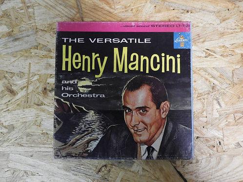 <再生確認済み>「 THE VERSATILE HENRY MANCINI 」 オープンリール 7号 ミュージック テープ