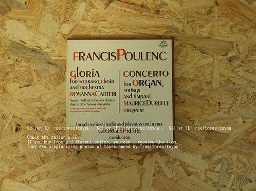 POULENC : GLORIA CONCERTO / GEORGES PRETRE