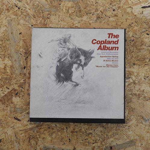 <再生確認済み>「 THE COPLAND ALBUM / LEONARD BERNSTEIN 」 バーンスタイン オープンリール 7号 ミュージック テープ