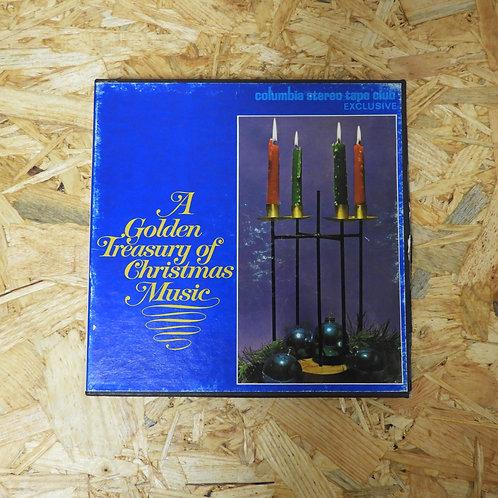 <再生確認済み>「 A GOLDEN TREASURY OF CHRISTMAS MUSIC / ALEXANDER GIBSON 」 オープンリール 7号 ミ