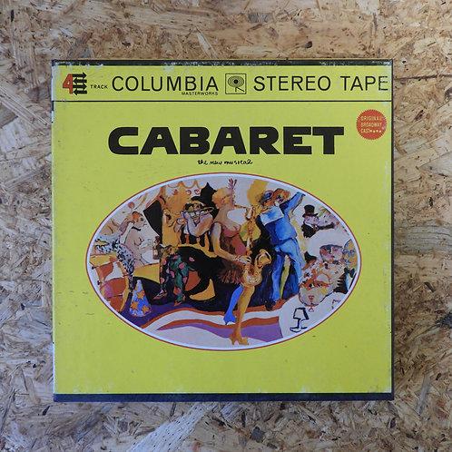 <再生確認済み>「 CABARET / ORIGINAL BROADWAY CAST 」 オープンリール 7号 ミュージック テープ
