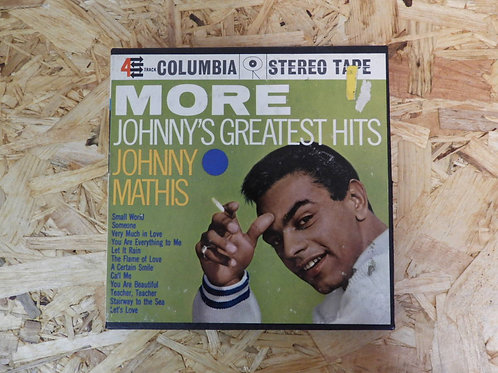 <再生確認済み・訳あり品>「 MORE JOHNNY'S GREATEST HITS / JOHNNY MATHIS 」  オープンリール 7号 ミュージック