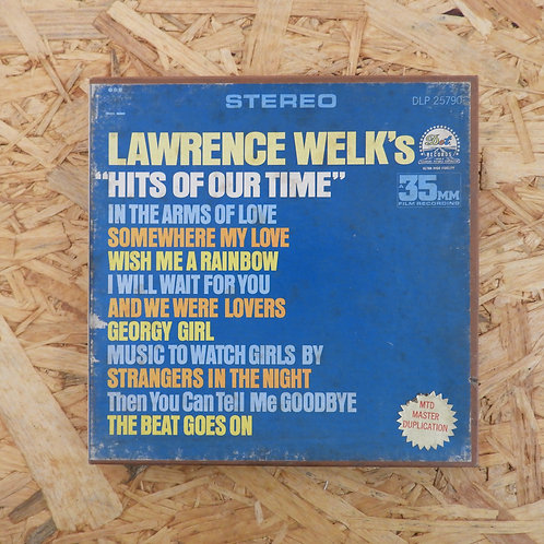 <再生確認済み>「 HITS OF OUR TIME / LAWRENCE WELK 」 オープンリール 7号 ミュージック テープ