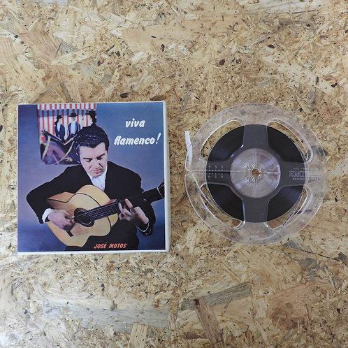 <再生確認済み>「 VIVA FLAMENCO! / JOSE MOTOS 」 オープンリール 5号 ミュージック テープ MONO