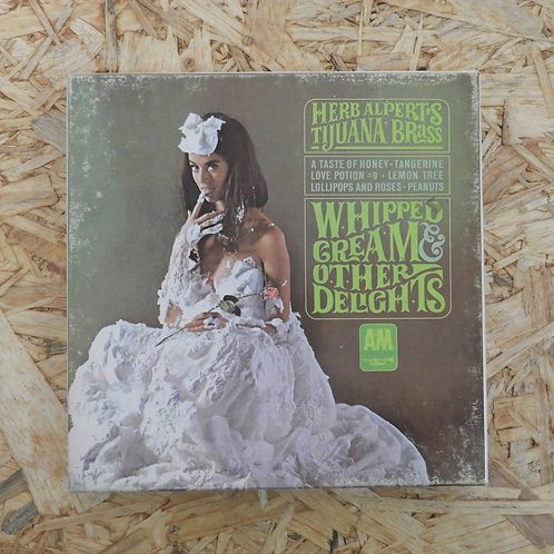 <再生確認済み>「 HERB ALPERT`S TIJUANA BRASS / WHIPPED CREAM AND OTHER DELIGHTS 」 オープンリ