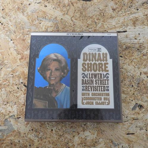 <未開封!>「 LOWER BASIN STREET REVISITED / DINAH SHORE 」 オープンリール 7号 ミュージック テープ