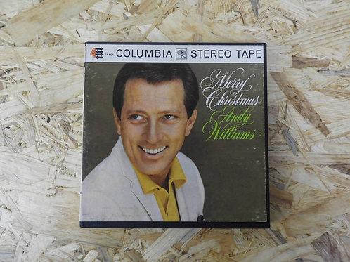<再生確認済み>「 MERRY CHRISTMAS / ANDY WILLIAMS 」 オープンリール 7号 ミュージック テープ