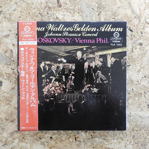 <再生確認済み>「 ウィンナ ワルツ ゴールデン アルバム / ヨハン・シュトラウス・コンサート 」 オープンリール 7号 ミュージック テープ