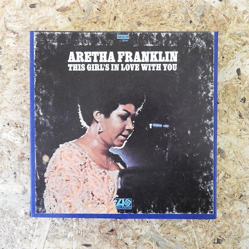 <再生確認済み>「 THIS GIRL'S IN LOVE WITH YOU / ARETHA FRANKLIN 」 オープンリール 7号 ミュージック テープ