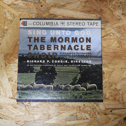 <再生確認済み>「 SING UNTO GOD / THE MORMON TABLENACLE CHOIR 」 オープンリール 7号 ミュージック テープ