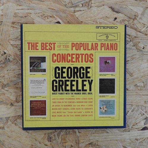 <再生確認済み>「 BEST OFTHE POPULAR PIANO CONCERTOS / GEORGE GREELEY 」 オープンリール 7号 ミュージッ
