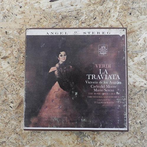 <再生確認済み>「 VERDI: LA TRAVIATA HIGHLIGHTS 」 オープンリール 7号 ミュージック テープ
