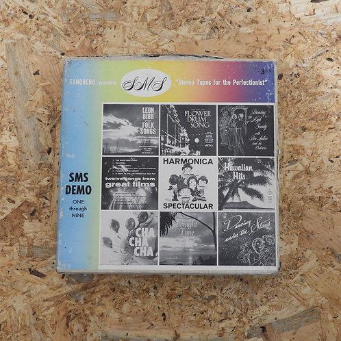 <再生確認済み>「 SMS DEMO (ONE THROUGH NINE) 」 オープンリール 7号 ミュージック テープ