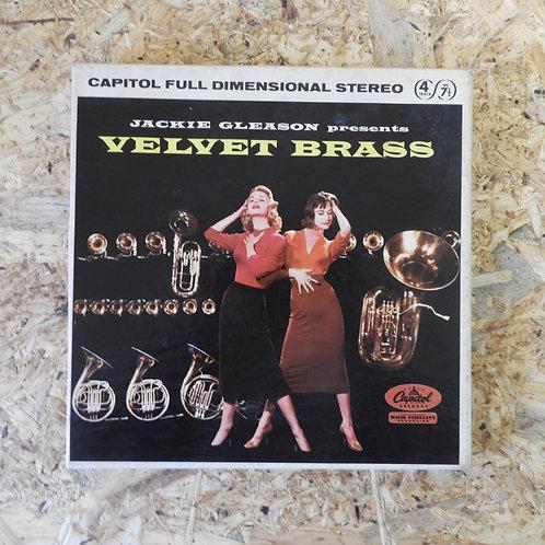 <再生確認済み>「 VELVET BRASS / JACKIE GLEASON 」 オープンリール 7号 ミュージック テープ