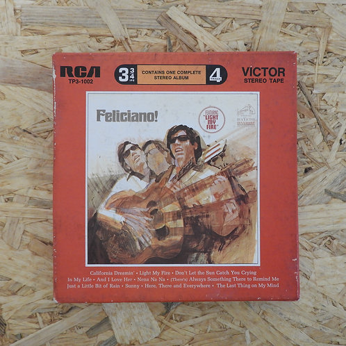 <再生確認済み>「 JOSE FELICIANO / FELICIANO! 」 オープンリール 7号 ミュージック テープ