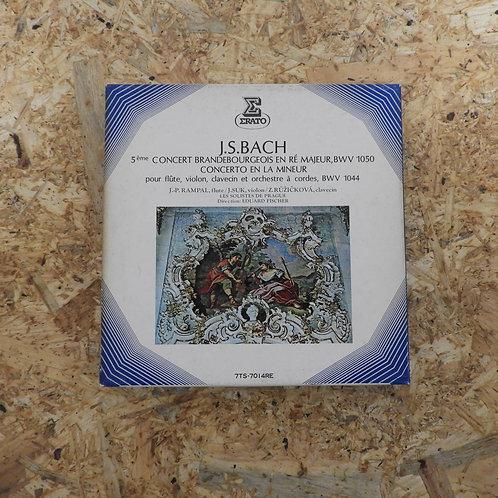 <再生確認済み>「 ランパル、スーク、ルージイッチコヴァ バッハ・コンサート 」 オープンリール 7号 ミュージック テープ