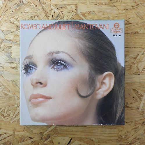 <再生確認済み>「 ロミオとジュリエット / マントヴァーニ 」 オープンリール 7号 ミュージック テープ